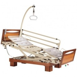 "Euro 9502 - RAL 1013 with ""Main courante"" end boards (cherry wood work)"