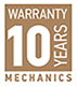 Warranty 10 years MECHANICS
